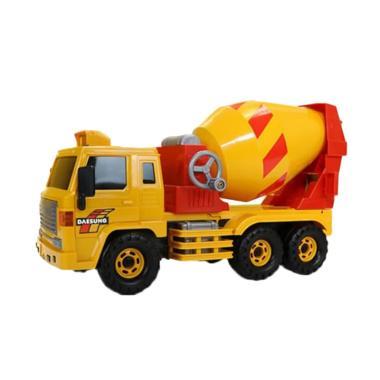 Daesung Toys Ds 708 Original Korea Super Cement Mixer Mainan Mobil