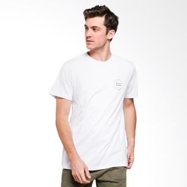 Billabong Access Border T-Shirt Pria - White  WHI0  e2121b3ffa