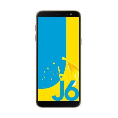 Samsung Galaxy J6 Smartphone - Gold [32GB/3GB]