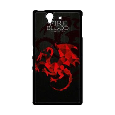 Acc Hp Game of Thrones Fire Blood G ...  Casing for Sony Xperia Z