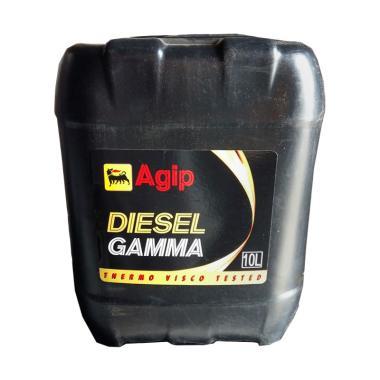 Agip Diesel Gamma SAE 40 [10 Liter]- Oli Mesin Pelumas Mobil Diesel / Truk / Bus / Genset Diesel / Mesin Industri & Pabrik - LISENSI ENI ITALIA