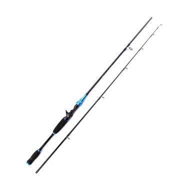 Universal Gun Handle Carbon Fiber M ... n Pancing - Biru [210 cm]