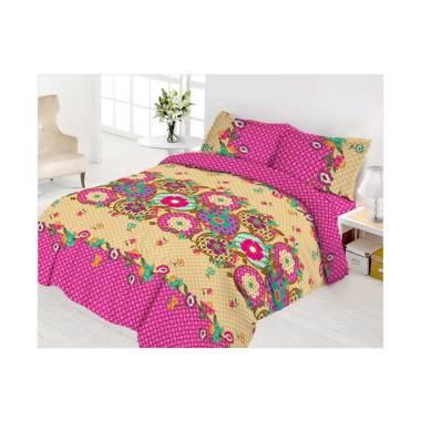 Vito Disperse Gantari Rumbai Set Sprei & Bed Cover [King Size/ 180x200 cm]