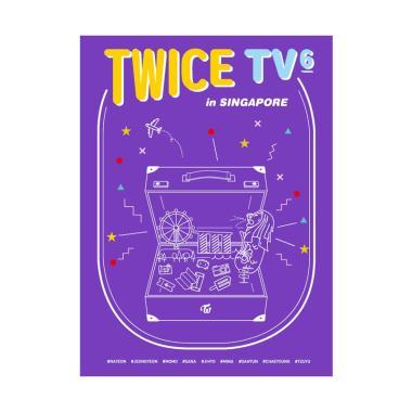 harga OEM Twice TV6 - Twice in Singapore CD Musik & Film [Photobook 80 Pages/ 3 Disc/ Postcard] Blibli.com