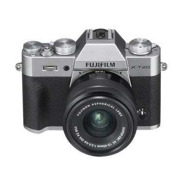 harga Fujifilm X-T20 Kit 15-45mm Kamera Mirrorless Free NP-W126s, Athabasca Filter - Braga Photo Video Blibli.com