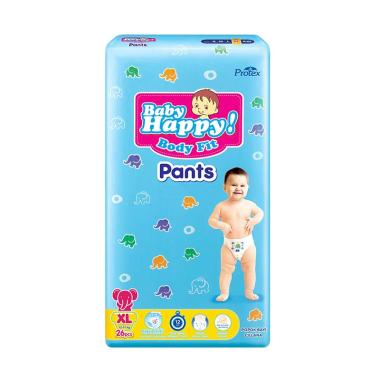 Baby Happy Diapers Pants Popok Bayi [Size XL/ 26 pads]