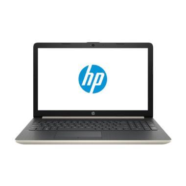 harga HP 15-db0010AU Notebook - Gold [AMD R3-2200U/4GB/1TB/15.6 Inch/Windows 10] Blibli.com