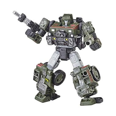 Hasbro E3537 Takara Tomy Transformers Generations Transformers Siege War  for Cybertron Trilogy Deluxe Class WFC-S9 Autobot Hound Action Figure