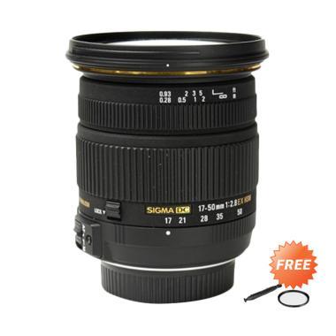 harga Sigma 17-50mm f/2.8 EX DC OS HSM Zoom Lensa Kamera for Canon + Free Filter UV + LensPen Universal - Blibli.com