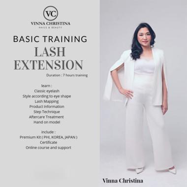harga VC Nails & Beauty Basic Training Lash Extension Kursus Kecantikan Blibli.com