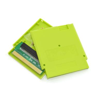 Bluelans 2Pin Hard Protective Game Cartridge Cassette Case Shell Cover for Nintendo NES - Green