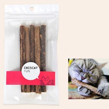 harga Chiscat Fun Kitten Natural Matatabi Catnip Molar Food Chew Stick [5 pcs] Blibli.com