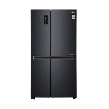 harga LG GC-B247SQUV Inverter Linear Compressor Kulkas Side by Side [687 L] Unit Only BLACK JABODETABEK Blibli.com