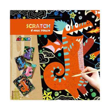 harga Avenir Scratch 4 Magic Dragon Blibli.com