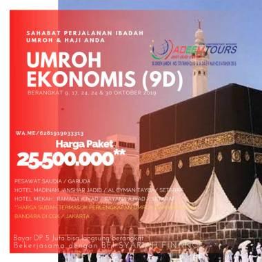 harga adeemtour Paket Umroh [Periode 9, 17, 23, 24 Dan 30 Oktober 2019] Blibli.com