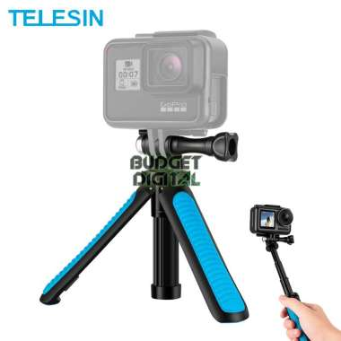harga TELESIN Mini Table Tripod Tongsis Foldable Selfie for Action Camera Blibli.com