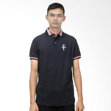 Fyasko Wangki RGB Man Polo Shirt - Black