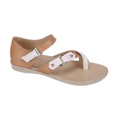 Syaqinah 401 Sandal Wanita - Cream