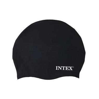 Intex 55991 Silicon Swim Cap - Hitam