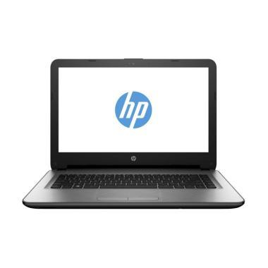 HP 14-AM013TU Notebook - Silver [14 Inch/N3060/4GB/WIN 10]