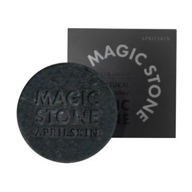 April Skin Magic Stone Soap - Black