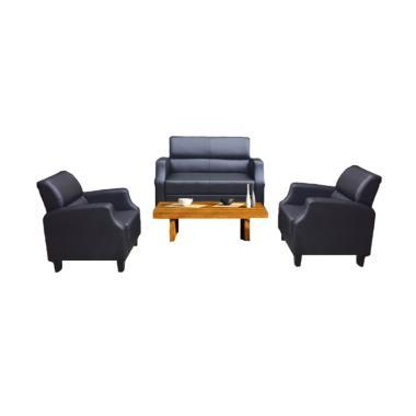 Malibu Melvin 211 Seater Sofa - Hitam
