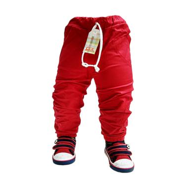 Calix Jogger Pants Kids Baby Celana Anak Laki-laki - Merah