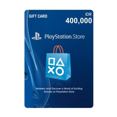 SONY Playstation Network Card Voucher [IDR 400.000]