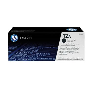 HP Original 12A Toner Printer - Black[Q2612A]