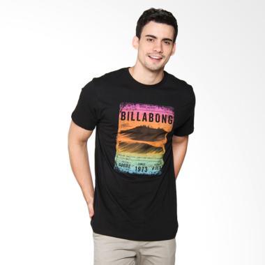 Billabong Lines Tee T-Shirt Pria - Black M401KLIN BLA00