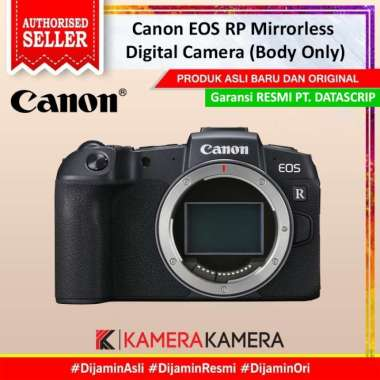 harga KameraKamera Canon EOS RP Mirrorless Digital Camera (Body Only) Hitam Blibli.com