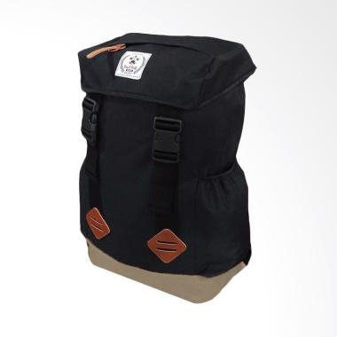 Bag & Stuff Forester Backpack - Hitam Krem