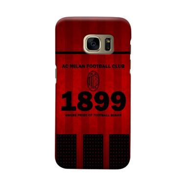 Indocustomcase AC Milan ACM08 Cover ... msung Galaxy S6 Edge Plus
