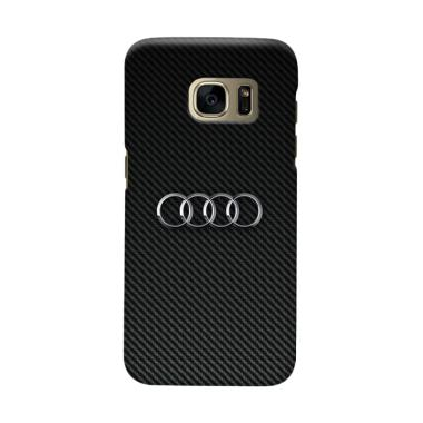 Indocustomcase Carbon Cover Casing for Samsung Galaxy S6 Edge Plus