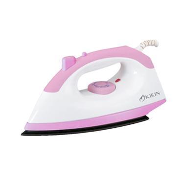 Kirin Setrika Elektrik KEI 320S / KEI320S - White Pink - Bubble Wrap