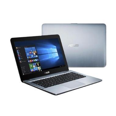 Asus X441NA Laptop - Notebook-silve ... WS 10/DVDRW/VGA INTEL HD]