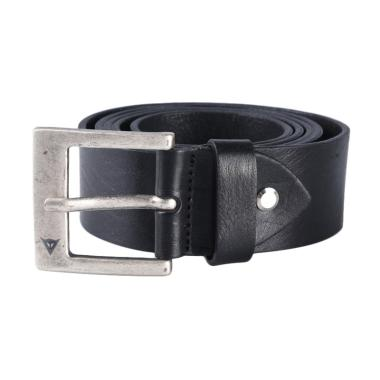 Dainese Leather Belt Evo Ikat Pinggang - Black [115 cm]