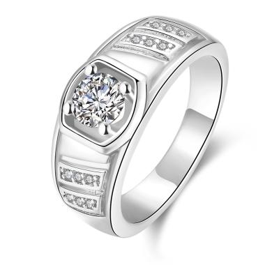 Bella & Co Ring KZCR127-C-8 Aksesoris Cincin Lapis Emas