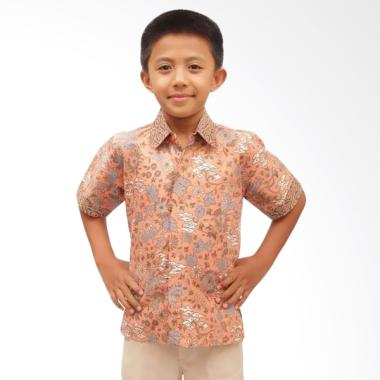 Aamir Kinsler BA16 Kemeja Batik Anak - Salem