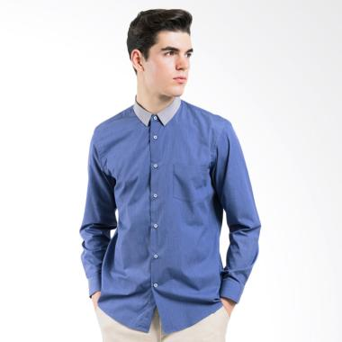MANLY Higgins Slim Fit Combination Man Shirt