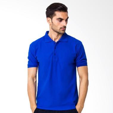 Yari's Fashion Kaos Kerah Polo Shirt - Biru