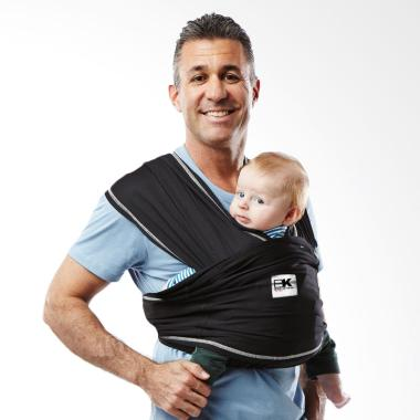 Baby K'Tan Baby Carrier Active Black | Size XS