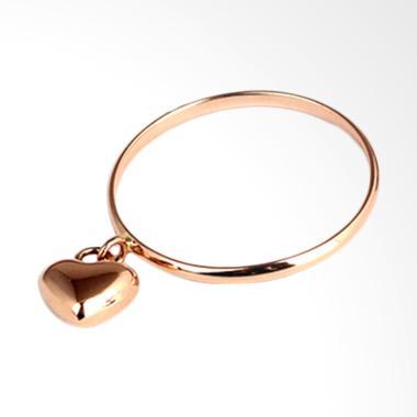 Tiaria Heart on Finger Ring Cincin Tunangan Emas Berlian