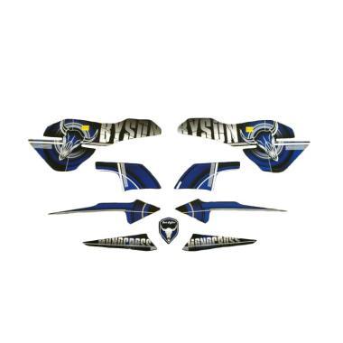 harga Idola Striping Byson 2014 Aksesoris Motor - Biru [Full] Blibli.com