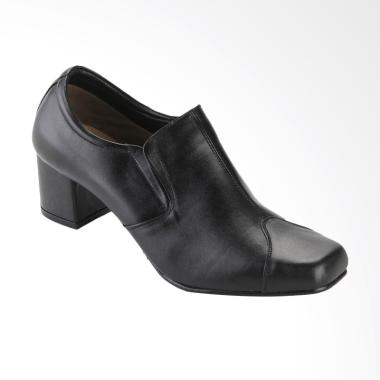 Marelli MP 001 Ankle Boot Kulit Wanita - Hitam