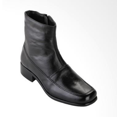 Marelli 8910 Boots kulit wanita - Hitam
