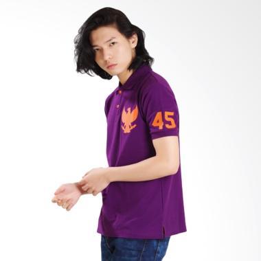 Damn I Love Indonesia Merdeka Polo Shirt Pria
