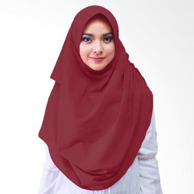 Milyarda Hijab Dravia Hijab Instan - Maroon