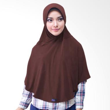 Milyarda Hijab Bergo M Jilbab Instan - Coklat