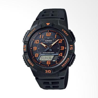 CASIO Jam Tangan Pria Original - Black AQ-S800W-1B2VDF